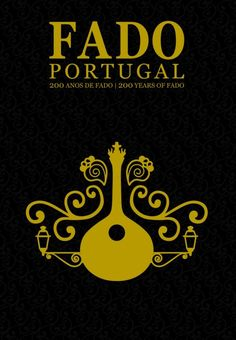 #Fado, 200 years poster | #Portugal