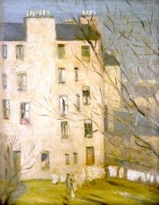 Tenements, Edinburgh - John Duncan Fergusson - The Athenaeum