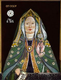 Cecily of York, daughter of King Edward IV and Queen Elizabeth Woodville