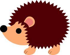 Free clip art of a cute little hedgehog Forest Creatures, Woodland Creatures, Cute Creatures, Forest Animals, Woodland Animals, Hedgehog Craft, Cute Hedgehog, Silhouette Clip Art, Silhouette Projects