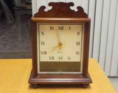 Revere R-955 Westminster Chime Mantle Electric Clock (Telechron) ~ Watch Video