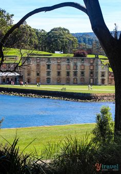 One of the best things to do in Tasmania is to visit the Port Arthur Historic Site including a ghost tour. It's a place of sadness mixed with beauty and history. Oh The Places You'll Go, Cool Places To Visit, Places To Travel, Penal Colony, Ghost Tour, To Infinity And Beyond, Holiday Destinations, Historical Sites, Australia Travel
