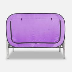 Privacy Pop Bed Tent Twin XL PINK * Visit the image link more details. (This is an affiliate link and I receive a commission for the sales) Bed Tent Twin, Floor Bed Frame, Van Conversion Interior, Futon Bed, Bed Springs, Loft Interiors, Types Of Beds, Shared Rooms, Girl Bedroom Designs