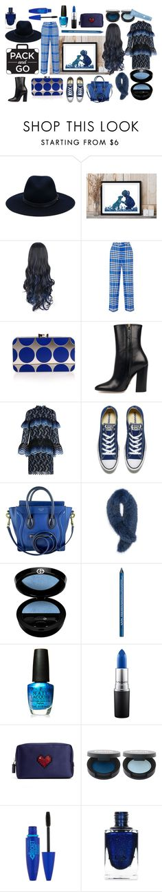 Pach and go by oldcastlechrista on Polyvore featuring Erdem, Jacquemus, Gucci, Converse, CÉLINE, Manolo Blahnik, rag & bone, Andrew Marc, Giorgio Armani and Thalgo