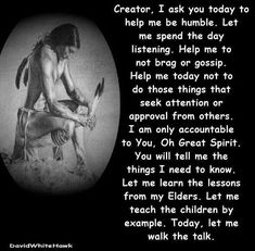 indigenous north americans, what can native american society instruct us about survival and also family members values Native American Prayers, Native American Spirituality, Native American Cherokee, Native American Wisdom, American Indians, American Symbols, American Indian Quotes, Native American Pictures, American Art