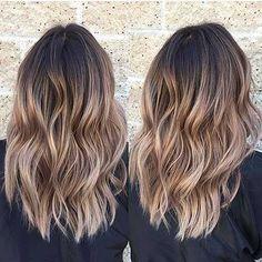 nice 35 Erstaunliche Balayage Haarfarbe Ideen 2017-2018