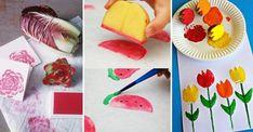 Låt barnen göra roliga tryck av saker du har hemma – 16 tips!