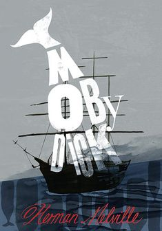 Moby Dick   #typographic