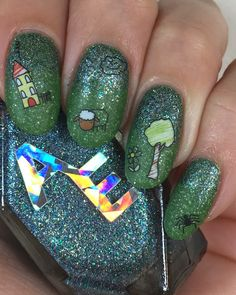 ehmkay nails: Born Pretty Back to School Water Decals with Alter Ego Nail…