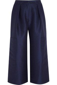Roksanda Ilincic Cotton and silk-blend culottes | NET-A-PORTER