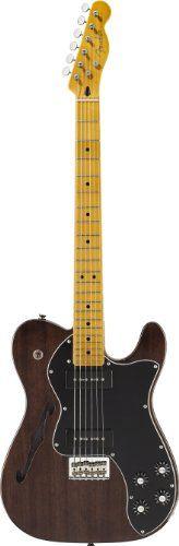 Fender Modern Player Telecaster Thinline Deluxe, Maple Fingerboard - Black Transparent Fender http://www.amazon.com/dp/B005N2AQIQ/ref=cm_sw_r_pi_dp_Pc5zub1RPNDER