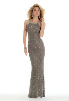 Beaded Illusion Back Dress from Camille La Vie and Group USA