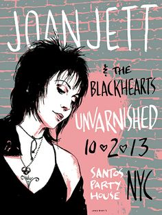 Joan Jett And The Blackhearts - Casey Burns - 2013 ----