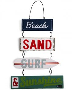 Lexington Beach Sign - Lexington Company