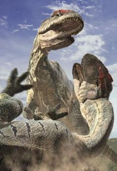 (BBC-Walking With Dinosaurs- Special) Fighting Allosaurus. (BBC-Walking With Dinosaurs- Special) Dinosaur Fossils, Dinosaur Art, The Good Dinosaur, Jurassic World, Jurassic Park, Walking With Dinosaurs, Dinosaur Illustration, Dinosaur Pictures, Wild Creatures