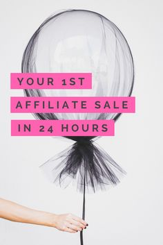Click here to learn the EXACT way I used to make my first Affiliate sale in less than 24 hours. Step-by step instructions that are easy to grasp & apply quickly. If you're a blogger, coach, mompreneur, girlboss, entrepreneur, or small business owner and you want to do the same Click through to start now!
