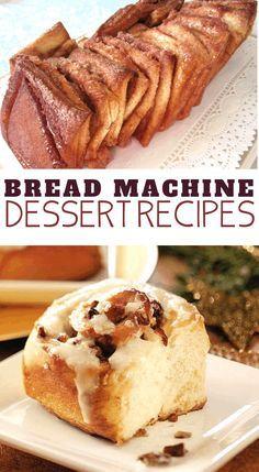 Easy Bread Machine Recipes, Best Bread Machine, Bread Maker Recipes, Pastry Recipes, Bread Machine Banana Bread, Köstliche Desserts, Dessert Recipes, Cake Recipes, Robot Boulanger