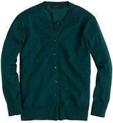 green cardigan- j crew. Love Forest green this fall