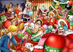 One Piece Merry Christmas :D