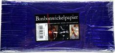 Bonbonwickelpapier Lila Aluminium ca. 10 Blatt