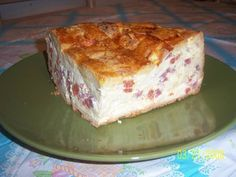 Also known as Pizza Chiene, this Easter pie is full of cheese and meats.
