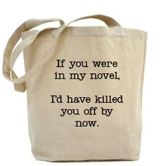 Killed You Off Tote Bag