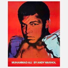 Muhammad Ali Lithograph, $1,663, now featured on Fab.
