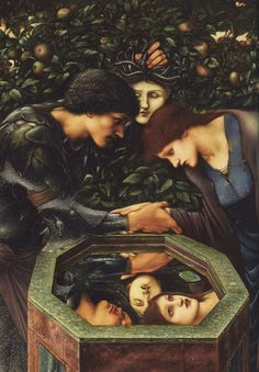 and.... — animus-inviolabilis: Edward Burne-Jones, The... Found on strangenbeautifulworld.tumblr.com