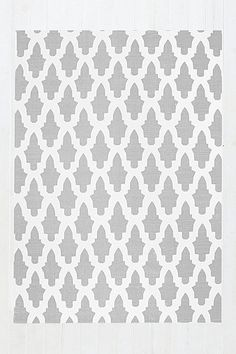 Flourish Tile 5x7 Rug in Grey - Urban Outfitters