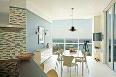 Richtig verstanden – Sie können Blau im Esszimmer benutzen! - blau im esszimmer tauben blau feiner küchenspiegel