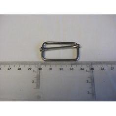 Fivela Ajustável Prata 4cm