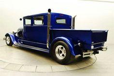 Beautiful blue pick up crew cab Hot Rod Trucks, Cool Trucks, Chevy Trucks, Cool Cars, Chevy C10, Gm Trucks, Hot Rod Pickup, Jeep Pickup, Pickup Trucks