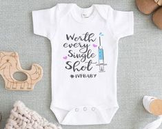 I/'ll Have The Breast Onesie Baby Onesie IVF Baby Onesie Blessed Onesie Thanksgiving Baby Onesie