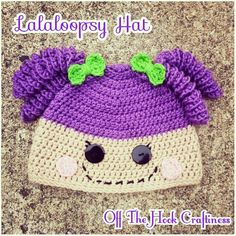 Lalaloopsy Hat https://www.facebook.com/OffTheHookCraftiness