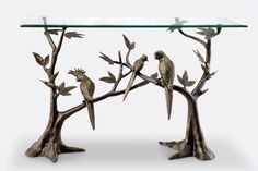 Bird Soiree Console Table