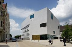 Voralberger Landesmuseum eröffnet / Betonblüten in Bregenz - Architektur und Architekten - News / Meldungen / Nachrichten - BauNetz.de