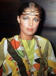 Romy Schneider wearing Pucci