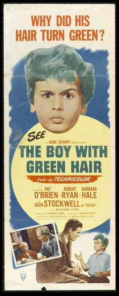 The Boy With Green Hair (1948) Bet you didn't know that this was Al from Quantum Leap (Dean Stockwell)?