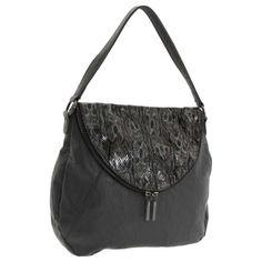 BCBG Generation Erin Hobo Bag- Charcoal Combo
