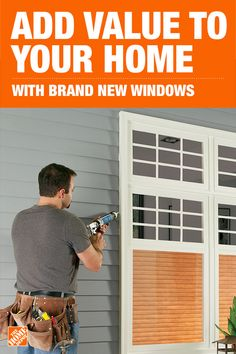 New windows can add value to a home you are selling or refresh one you plan to live in for a while. From doors to windows and everything you need in between The Home Depot has everything you need to boost your homes curb appeal. Home Improvement Tv Show, Home Improvement Loans, Home Improvement Projects, Planning A Move, Primitive Homes, Primitive Country, French Cottage, Digital Photography, Photography Tips