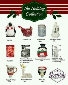 Scentsy Holiday Collection 2015 www.randiogden.scentsy.us