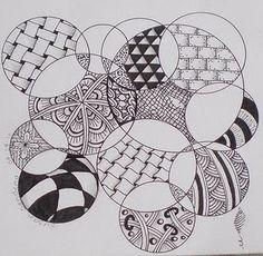 #art #zentangle #Circles
