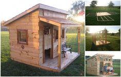 Idées créatives - Construire un Western Saloon enfants Fort pouce bricolage
