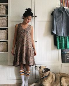 This is one of my fave anthropologie dresses that I always wished had long sleeves. That means I should sew up a #farrowdress right?! #sewingmotivationfarrowdress,sewingmotivationpurpleworkbench