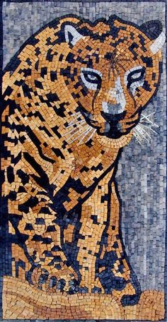 Browse our vast selection of animal mosaic designs. Perfect for completing your art projects, indoor mosaic murals and outdoor decorative projects. Mosaic Artwork, Mosaic Wall, Mosaic Glass, Marble Mosaic, Mosaic Mirrors, Mosaic Designs, Mosaic Patterns, Mosaic Projects, Art Projects