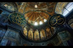 hagia sofia istanbul. Church then mosque first built in 390 AD.    Simon Tong took photo.  He has many beautiful photos from all over the world. Is it wrong to be so jealous?  Why didn't I become a photographer?  I could have gone to Tahiti, Venice, New Zeland....