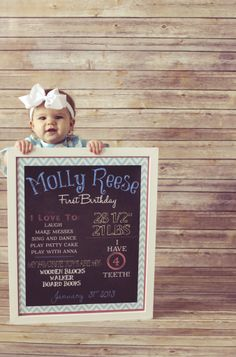 First birthday DIY by Dalton Ln. Photography | Two Bright Lights :: Blog