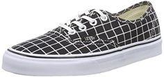 Vans Authentic, Unisex-Erwachsene Sneakers, Schwarz (grid/black), 37 EU - http://on-line-kaufen.de/vans/37-eu-vans-authentic-unisex-erwachsene-sneakers-82