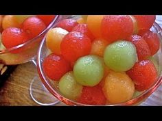 Drunk Melon Balls - Alcohol-infused fruit | Divas Can Cook