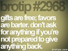 brotip 2968, fits to people of my past